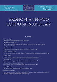 <br>Volume 18 Issue 1</br><br>March 2019</br>